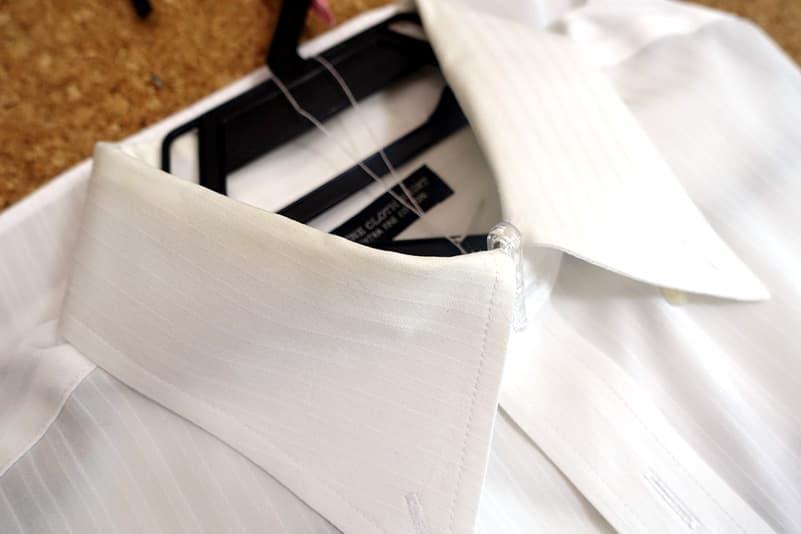 白いワイシャツ