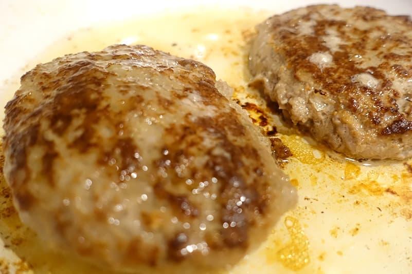 大阪の味ゆうぜんのゆうぜんハンバーグ