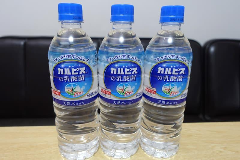 アサヒ おいしい水プラス カルピスの乳酸菌 PET600ml 48本