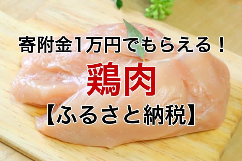 寄付金1万円~もらえる 鶏肉 ふるさと納税