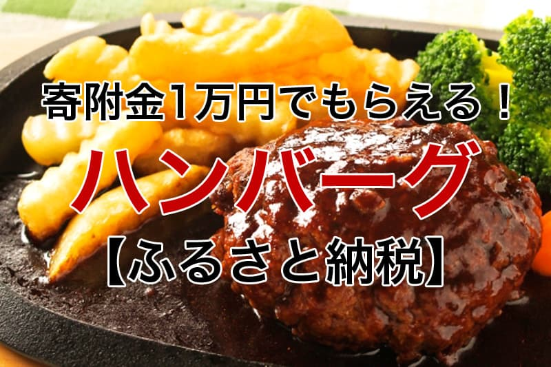 寄付金1万円~もらえる ハンバーグ ふるさと納税