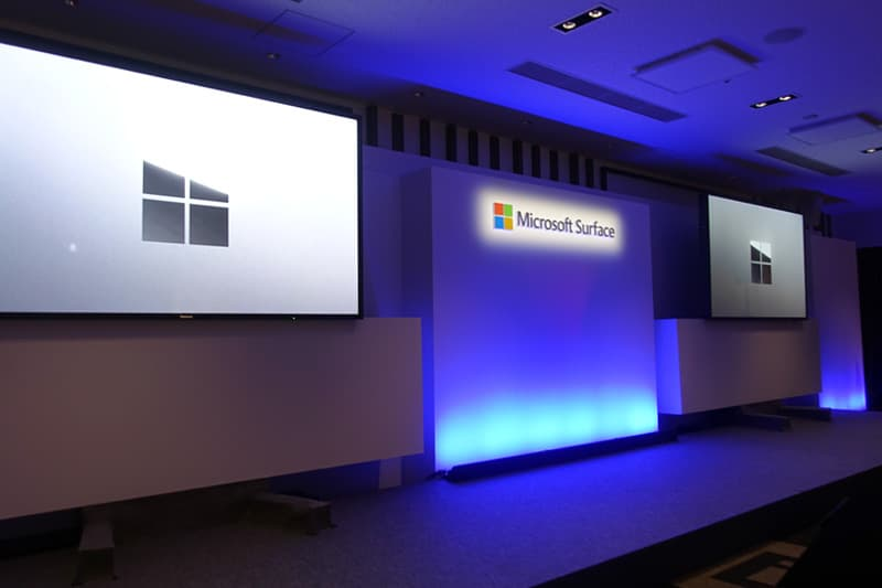 Microsoft Japan Surface Event