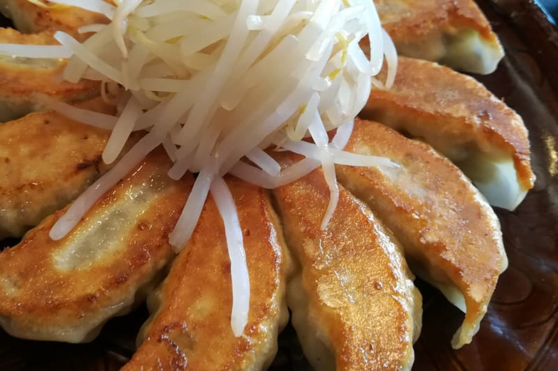 五味八珍の浜松餃子