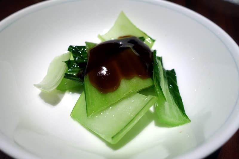 野菜の湯引き