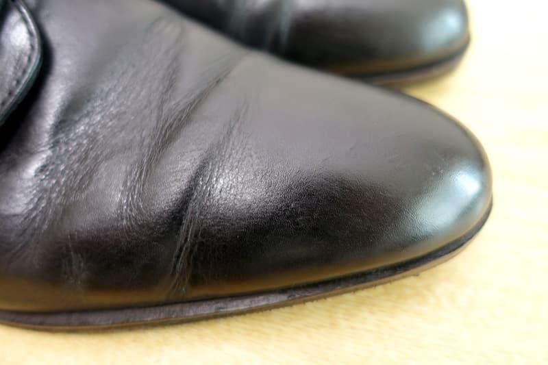 プレミアム靴磨きつま先