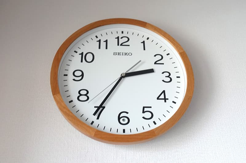 セイコー壁掛け時計