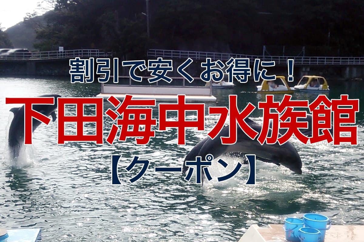 割引で安くお得に 下田海中水族館 クーポン