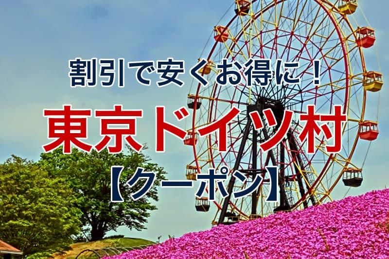 割引で安くお得に 東京ドイツ村 クーポン