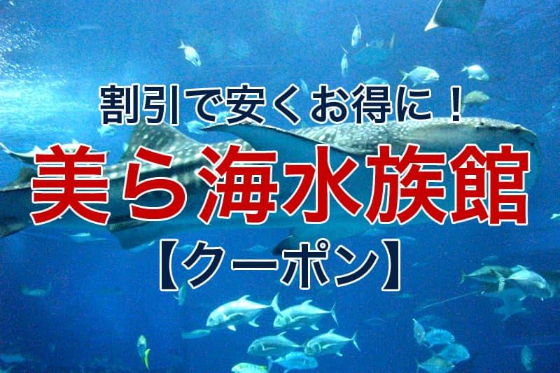 割引で安くお得に 美ら海水族館 クーポン