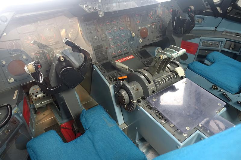 パイロットの席