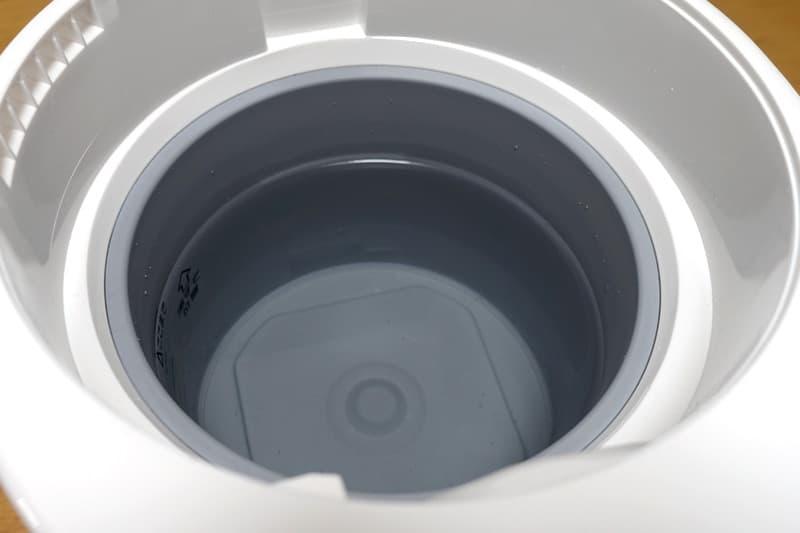 加湿器のタンク