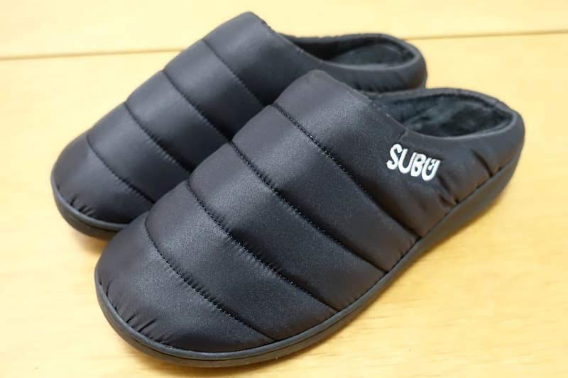 SUBUの冬サンダル