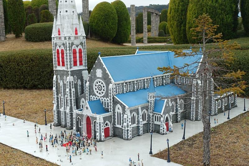 ミニチュアワールドのクライストチャーチ大聖堂