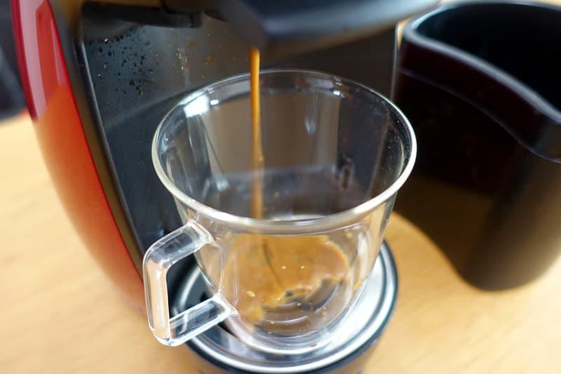 コーヒーが出てくる