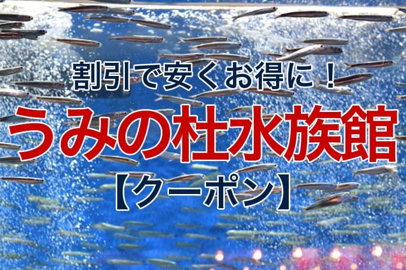 割引で安くお得に 仙台うみの杜水族館 クーポン