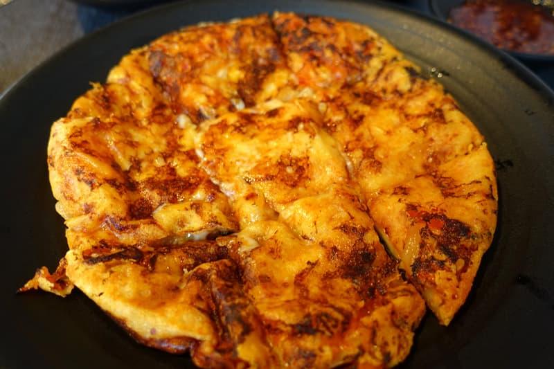 ヨプの王豚塩焼の料理