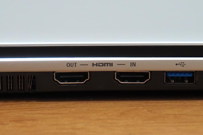 HDMI入出力端子