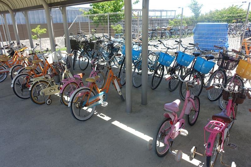 普通自転車とこども自転車