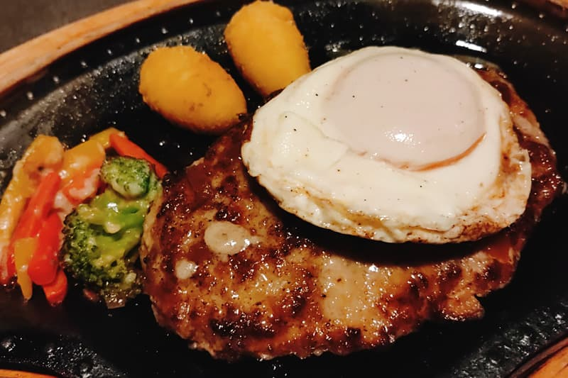 エッグバーグステーキ