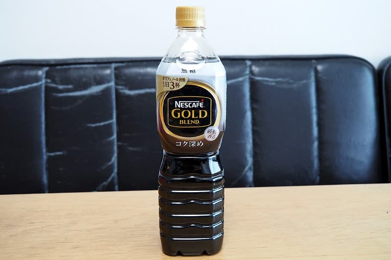 ネスカフェ ゴールドブレンド コク深め ボトルコーヒー 無糖