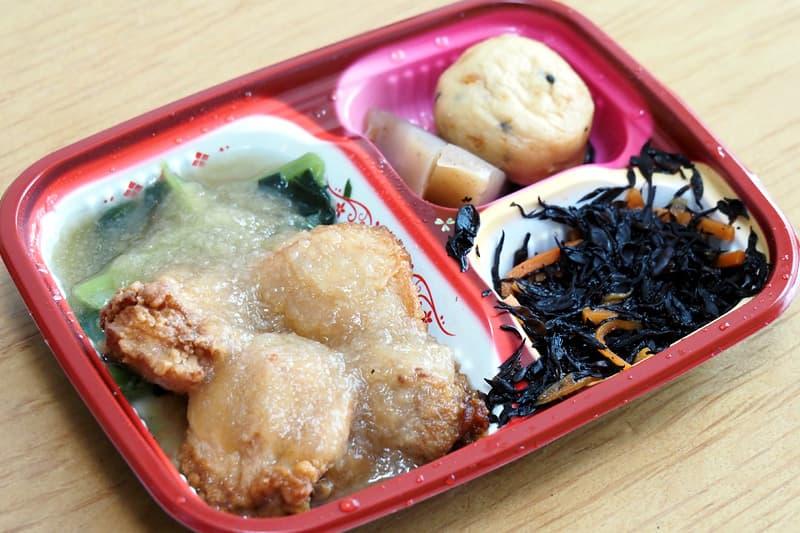 ワタミの宅食ダイレクトの鶏の唐揚げおろしソース