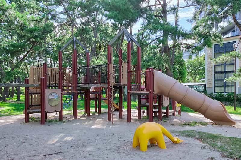 舞子公園の大型遊具