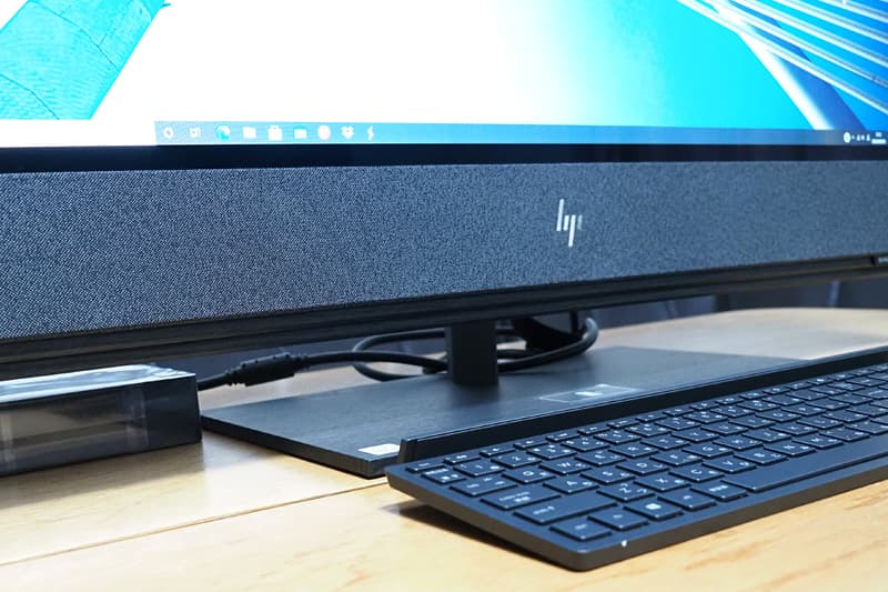 HP ENVY All-in-One 32のスピーカー