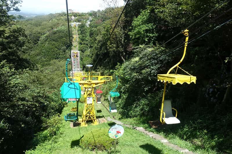 須磨浦山上遊園の須磨観光リフト