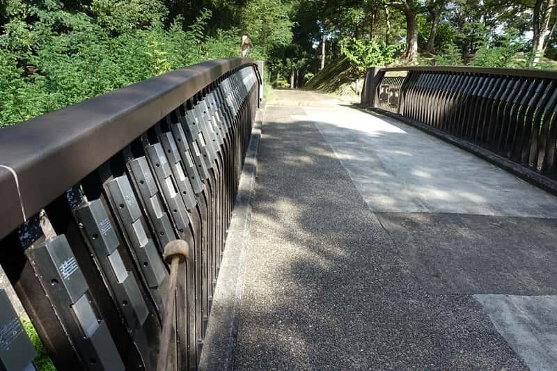 錦織公園のドレミの小橋