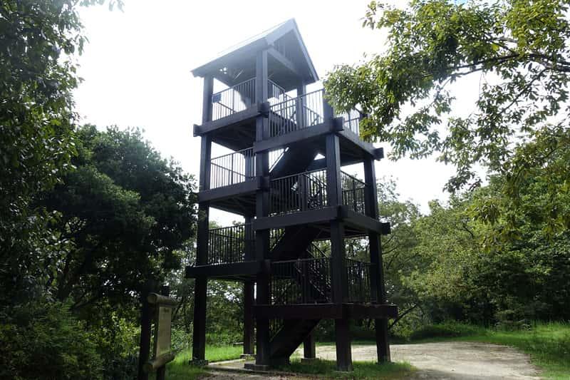 錦織公園の展望台