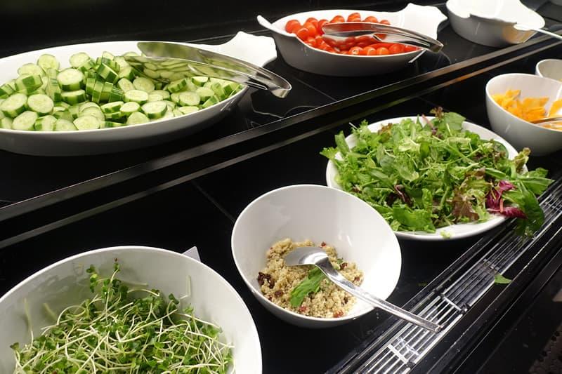 ヒルトン大阪の朝食ビュッフェ