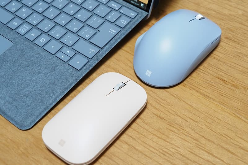 Microsoft Modern Mobile MouseとMicrosoft Bluetooth Ergonomic Mouse