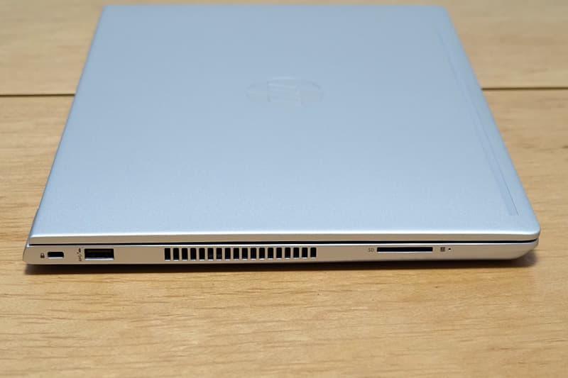 HP ProBook 430 G7の端子