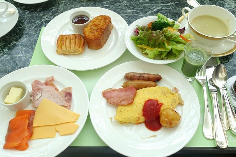 ウェスティンホテル大阪の朝食ブッフェ