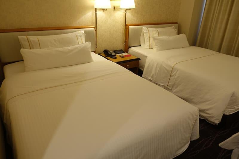 ウェスティンホテルオリジナルのヘブンリーベッド
