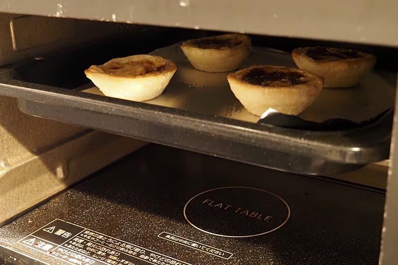 オーブントースターで加熱