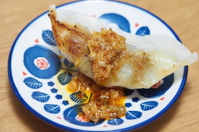 餃子と酸姜醤
