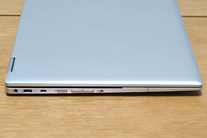 HP Chromebook x360 13cの外部端子