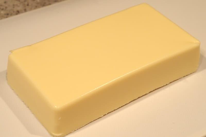リッチチーズケーキを解凍