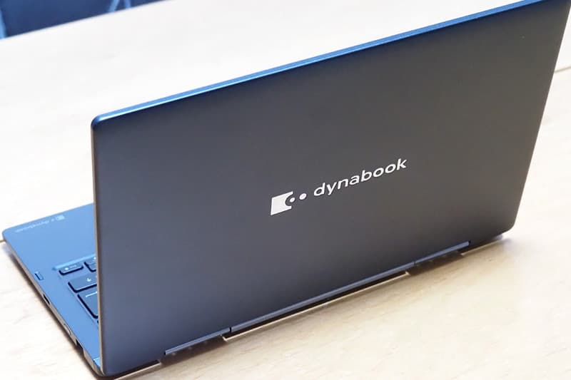 dynabook VZ/HPの背面