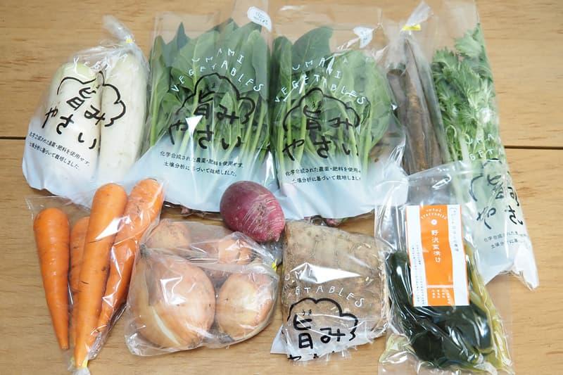食べチョクで注文した野菜