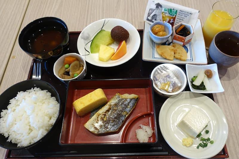 和定食の朝食メニュー