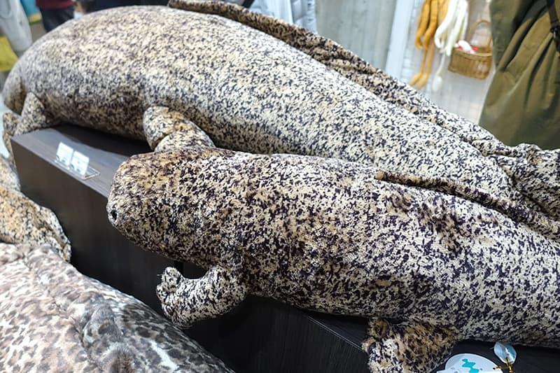 オオサンショウウオぬいぐるみ特大サイズ