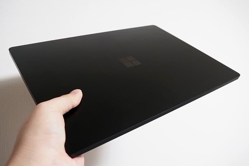 Surface Laptop 4の重量