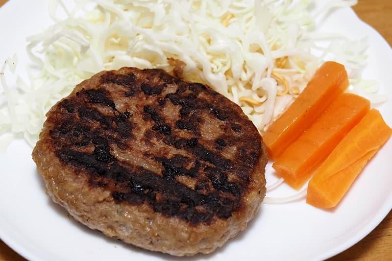 焼上ハンバーグ