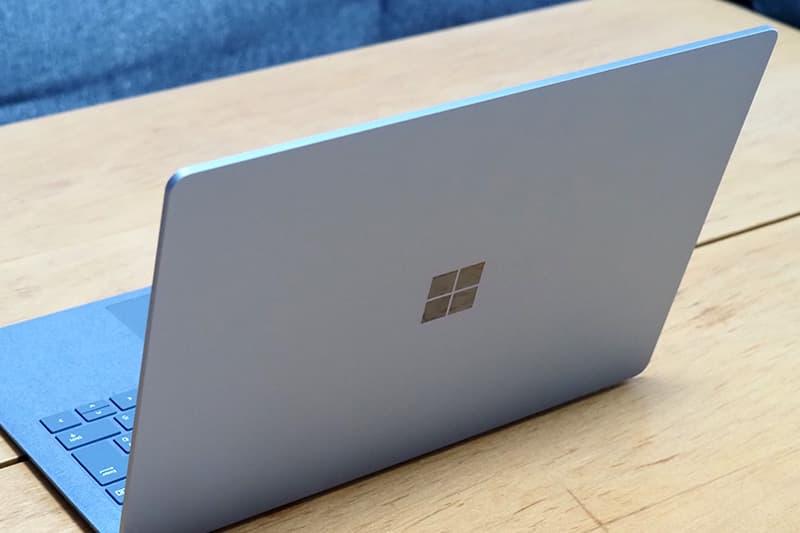 Surface Laptop 4 13.5インチのデザイン