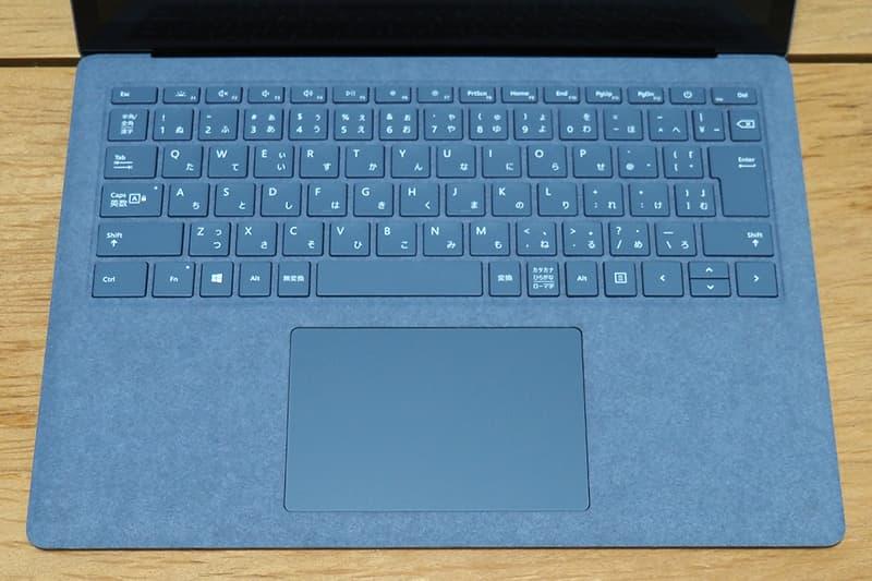 Surface Laptop 4のキーボード