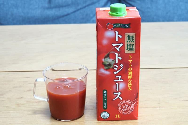 業務スーパー トルコ産無塩トマトジュース