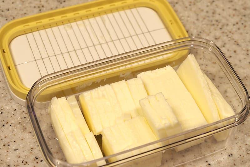 ニトリ カットできちゃうバターケース