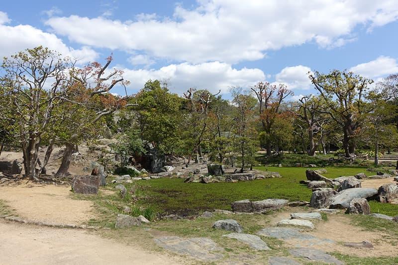 明石城武蔵の庭園
